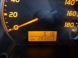 2009 Toyota HiAce TRH201R MY10 LWB White 5 Speed Manual Van