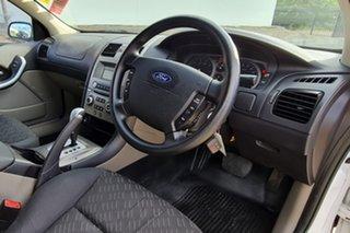 2007 Ford Falcon BF Mk II RTV Ute Super Cab White 4 Speed Sports Automatic Utility.