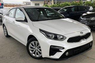 2019 Kia Cerato BD MY20 S Safety Pack Snow White Pearl 6 Speed Automatic Sedan.
