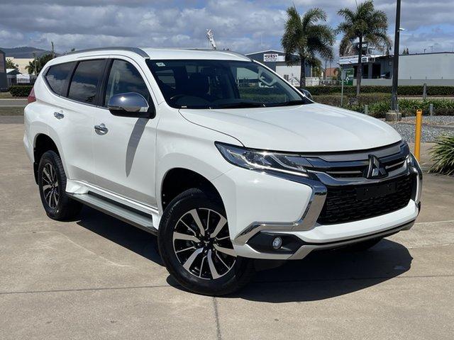 Used Mitsubishi Pajero Sport QE MY18 GLS Townsville, 2018 Mitsubishi Pajero Sport QE MY18 GLS White/180518 8 Speed Sports Automatic Wagon