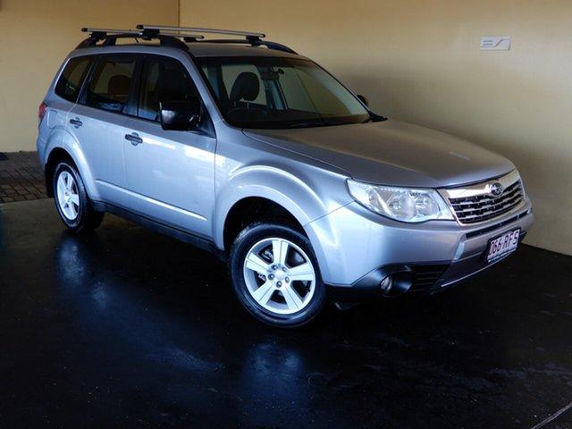 Used Subaru Forester MY10 X SKI-FX Toowoomba, 2010 Subaru Forester MY10 X SKI-FX Silver 4 Speed Auto Elec Sportshift Wagon