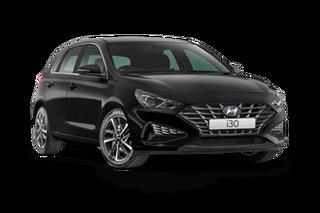 2021 Hyundai i30 PD.V4 Active Phantom Black 6 Speed Automatic Hatchback
