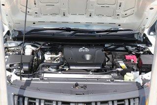 2017 Mitsubishi Triton MQ MY17 GLX 4x2 White 5 speed Automatic Cab Chassis