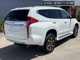 2018 Mitsubishi Pajero Sport QE MY18 GLS White/180518 8 Speed Sports Automatic Wagon.