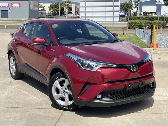 Used Toyota C-HR NGX10R S-CVT 2WD Townsville, 2019 Toyota C-HR NGX10R S-CVT 2WD Maroon 7 Speed Constant Variable Wagon