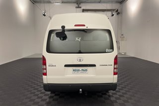 2005 Toyota HiAce TRH223R Commuter High Roof Super LWB White 4 speed Automatic Bus