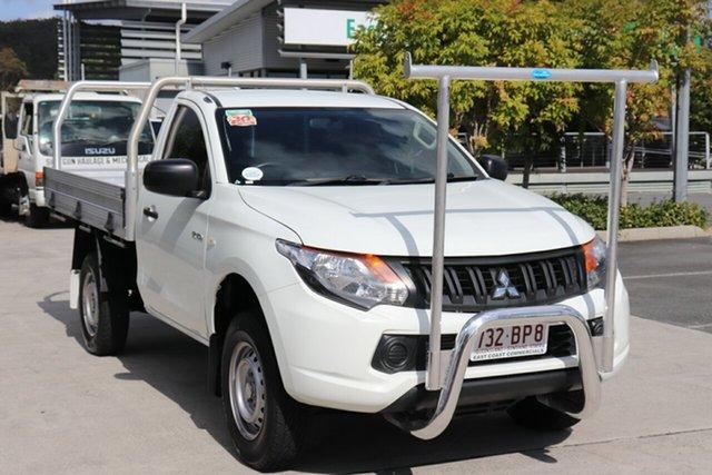 Used Mitsubishi Triton MQ MY17 GLX 4x2 Robina, 2017 Mitsubishi Triton MQ MY17 GLX 4x2 White 5 speed Automatic Cab Chassis