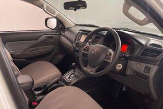2018 Mitsubishi Triton MQ MY18 GLX Double Cab 4x2 White 5 speed Automatic Utility