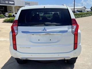 2018 Mitsubishi Pajero Sport QE MY18 GLS White/180518 8 Speed Sports Automatic Wagon