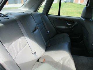 2000 Ford Fairlane AU Ghia White 4 Speed Automatic Sedan