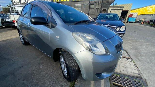 Used Toyota Yaris NCP90R YR Maidstone, 2007 Toyota Yaris NCP90R YR Grey 4 Speed Automatic Hatchback