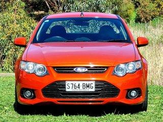 2013 Ford Falcon FG MkII XR6 Ute Super Cab Orange 6 Speed Sports Automatic Utility.