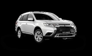 2021 Mitsubishi Outlander ZL MY21 ES AWD White Solid 6 Speed Constant Variable Wagon.