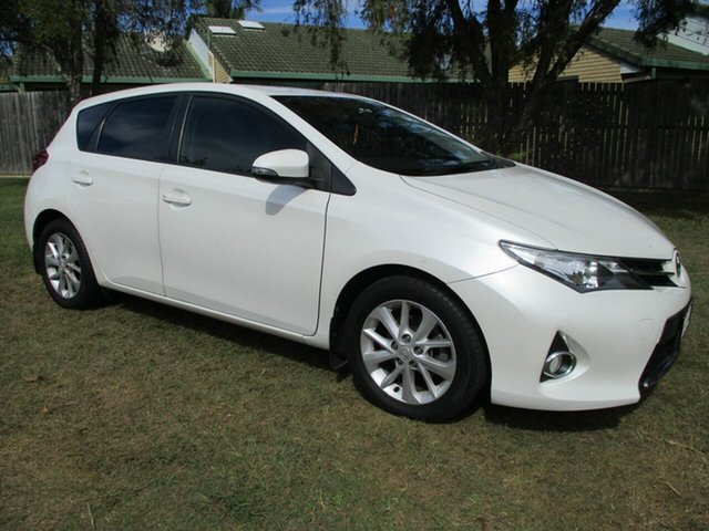 Used Toyota Corolla ZRE182R Ascent Sport S-CVT Kippa-Ring, 2013 Toyota Corolla ZRE182R Ascent Sport S-CVT White 7 Speed Constant Variable Hatchback
