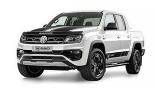 2021 Volkswagen Amarok 2H V6 W580S Candy White 8 Speed Automatic Dual Cab