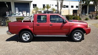 2008 Nissan Navara ST-R (4X4) D22 MY08 Red Manual Dual Cab.