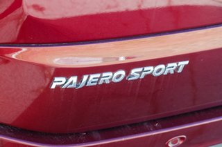 2017 Mitsubishi Pajero Sport QE MY17 Exceed Red 8 Speed Sports Automatic Wagon