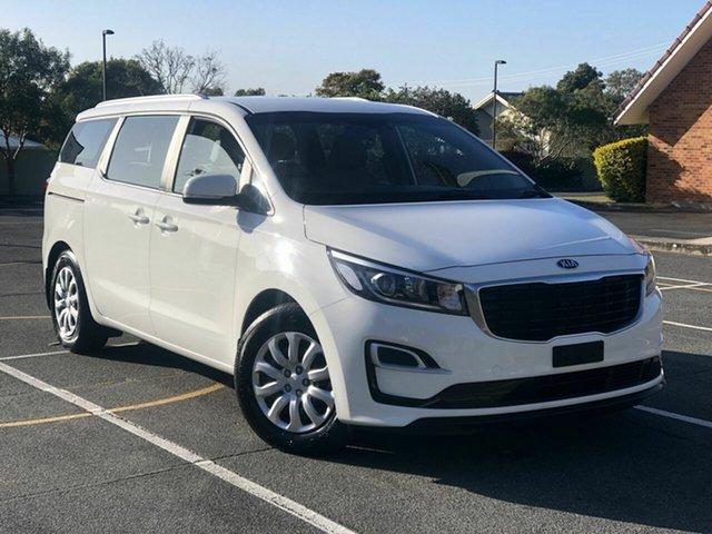 Used Kia Carnival YP MY20 S Chermside, 2019 Kia Carnival YP MY20 S White 8 Speed Sports Automatic Wagon