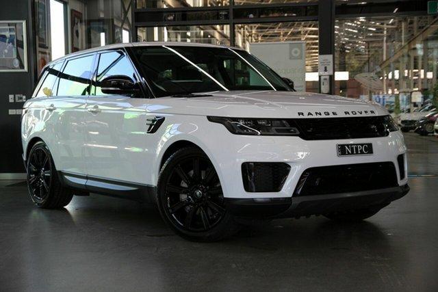 Used Land Rover Range Rover Sport L494 21.5MY DI6 183kW SE North Melbourne, 2021 Land Rover Range Rover Sport L494 21.5MY DI6 183kW SE White 8 Speed Sports Automatic Wagon