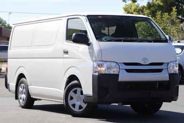 Used Toyota HiAce KDH201R LWB Toowoomba, 2016 Toyota HiAce KDH201R LWB White 4 Speed Automatic Van