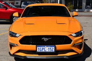 2018 Ford Mustang FN 2019MY GT Orange 10 Speed Sports Automatic Fastback.