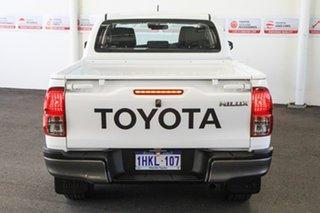 2020 Toyota Hilux GUN126R SR Double Cab Glacier White 6 Speed Sports Automatic Utility