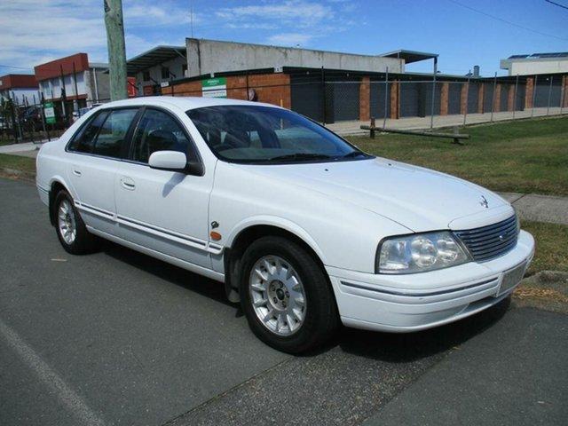Used Ford Fairlane AU Ghia Kippa-Ring, 2000 Ford Fairlane AU Ghia White 4 Speed Automatic Sedan