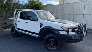 2011 Ford Ranger PK XL Crew Cab White 5 Speed Manual Utility.