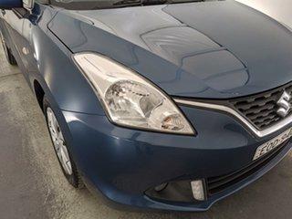 2016 Suzuki Baleno EW GL Blue 5 Speed Manual Hatchback.