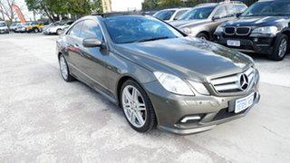 2009 Mercedes-Benz E-Class C207 E350 7G-Tronic Avantgarde Grey 7 Speed Sports Automatic Coupe.