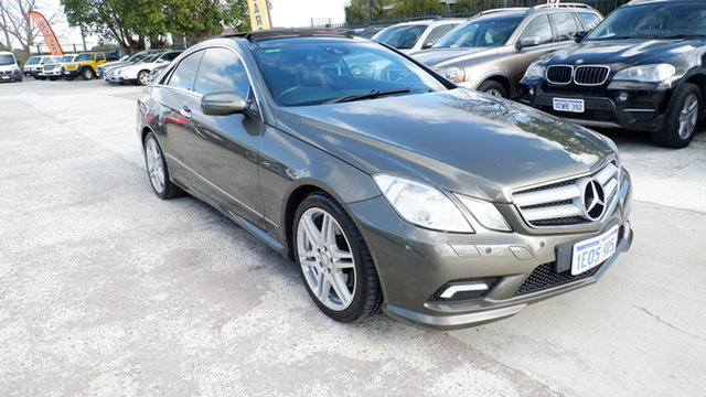 Used Mercedes-Benz E-Class C207 E350 7G-Tronic Avantgarde St James, 2009 Mercedes-Benz E-Class C207 E350 7G-Tronic Avantgarde Grey 7 Speed Sports Automatic Coupe