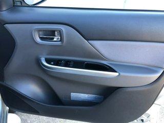 2018 Mitsubishi Triton MQ MY18 GLS Double Cab Silver 5 Speed Sports Automatic Utility