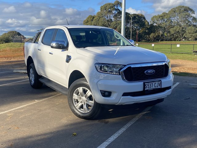 Demo Ford Ranger PX MkIII 2021.25MY XLT Hi-Rider St Marys, 2020 Ford Ranger PX MkIII 2021.25MY XLT Hi-Rider Arctic White 6 Speed Sports Automatic
