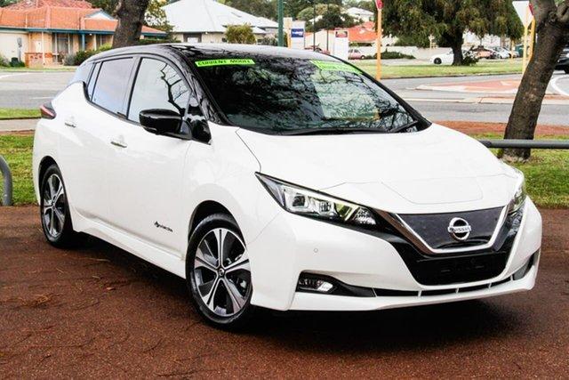 Used Nissan Leaf ZE1 Attadale, 2019 Nissan Leaf ZE1 Ivory Pearl 1 Speed Reduction Gear Hatchback