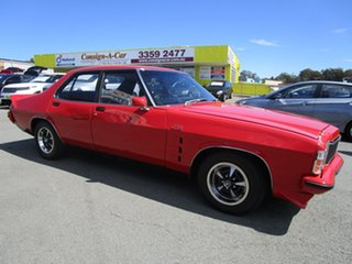 1978 Holden Premier HZ Red 3 Speed Automatic Sedan.