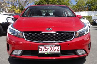 2017 Kia Cerato YD MY17 S Red 6 Speed Sports Automatic Sedan.