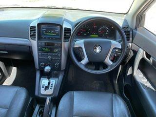 2010 Holden Captiva CG MY10 LX AWD White 5 Speed Sports Automatic Wagon.