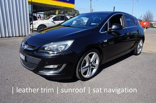 2013 Opel Astra AS Sport Carbon Flash 6 Speed Manual Hatchback.