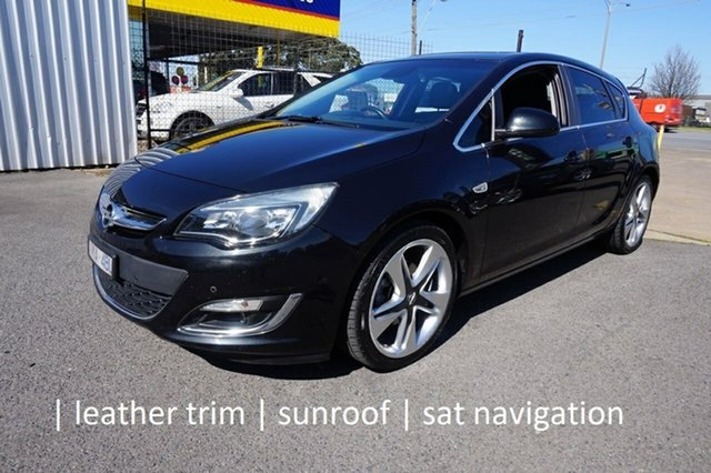Used Opel Astra AS Sport Dandenong, 2013 Opel Astra AS Sport Carbon Flash 6 Speed Manual Hatchback