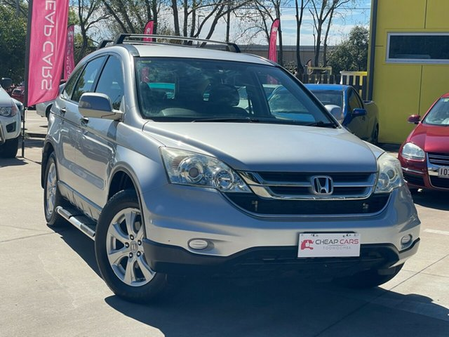 Used Honda CR-V RE MY2010 Limited Edition 4WD Toowoomba, 2010 Honda CR-V RE MY2010 Limited Edition 4WD Silver 5 Speed Automatic Wagon
