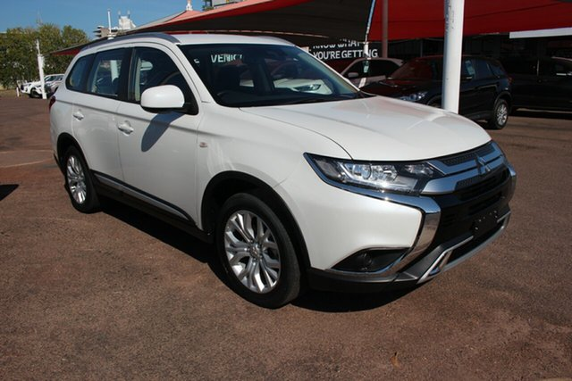 Used Mitsubishi Outlander ZL MY19 ES AWD ADAS Darwin, 2019 Mitsubishi Outlander ZL MY19 ES AWD ADAS White 6 Speed Continuous Variable Wagon