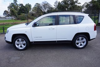 2013 Jeep Compass MK MY13 Sport CVT Auto Stick Bright White 6 Speed Constant Variable Wagon.
