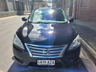 2013 Nissan Pulsar B17 ST Black 1 Speed Constant Variable Sedan.