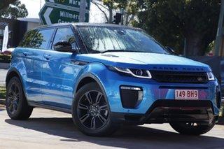 2017 Land Rover Range Rover Evoque L538 MY18 Landmark Edition Blue 9 Speed Sports Automatic Wagon.