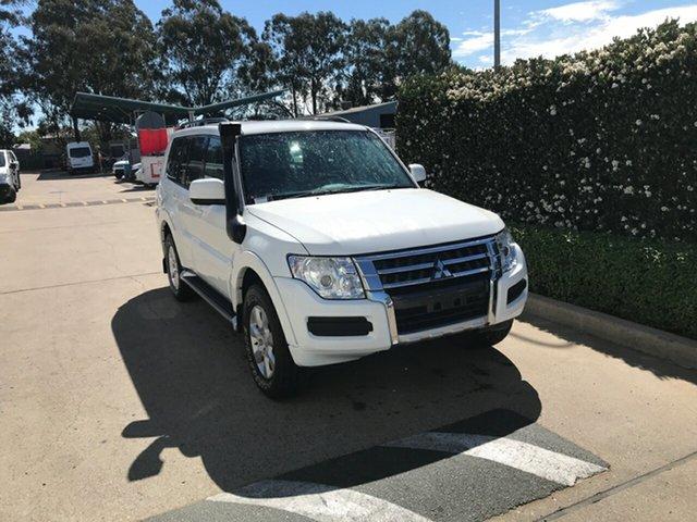 Used Mitsubishi Pajero NX MY15 GLX Acacia Ridge, 2016 Mitsubishi Pajero NX MY15 GLX White 5 speed Automatic Wagon