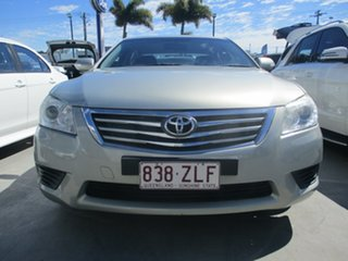 2011 Toyota Aurion GSV40R 09 Upgrade AT-X Silver 6 Speed Auto Sequential Sedan