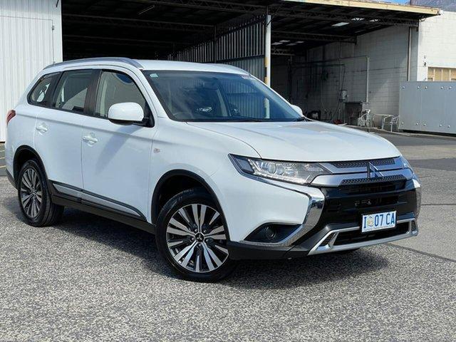 Used Mitsubishi Outlander ZL MY19 ES AWD Moonah, 2018 Mitsubishi Outlander ZL MY19 ES AWD White 6 Speed Constant Variable Wagon