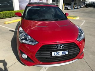 2014 Hyundai Veloster FS3 SR Coupe Turbo Veloster Red 6 Speed Sports Automatic Hatchback.