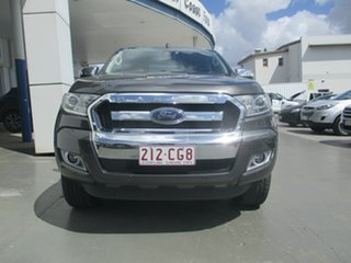 2017 Ford Ranger PX MkII MY18 XLT 3.2 (4x4) Grey 6 Speed Automatic Double Cab Pick Up