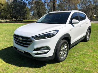 2017 Hyundai Tucson TLe MY17 Active AWD White 6 Speed Sports Automatic Wagon.